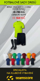 Specializovaný e-shop Nike, Kelme, Under Armour, Adidas, Puma, Klimatex ★ Teamstore